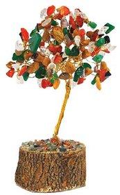Multicolor Feng Shui Multicolor Wealth Or Money Tree (No of Pieces 1)