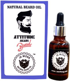 LA MONK NATURAL BEARD OIL 10ML