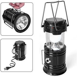 KS Led Solar Emergency Light Lantern , High Light Torch , Usb Mobile Charger, 3 Power Source Solar, Lithium Battery,
