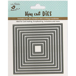 Thin Cut Dies - Square