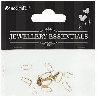 Jewellery Findings Pendant Hook 6x3 mm -Gold