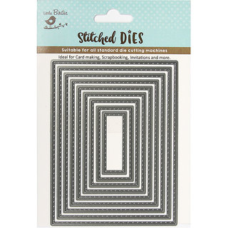 Thin Cut Dies - Stitched Rectangle