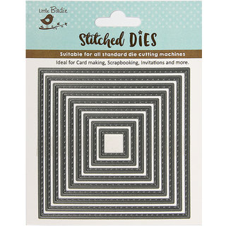 Thin Cut Dies - Stitched Square