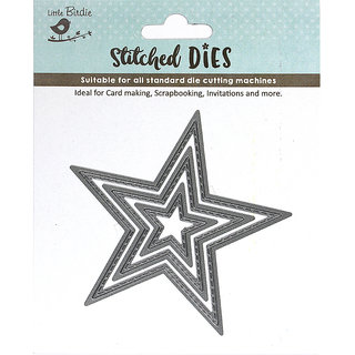Thin Cut Dies - Stitched Star
