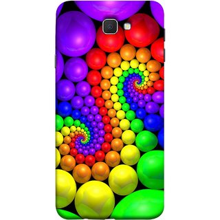 FUSON Designer Back Case Cover for Samsung On7 (2016) New Edition For 2017 :: Samsung Galaxy On 5 (2017) (Colourful Stones Easter Egg Games Children Enjoy Playing)