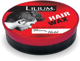 Lilium Shine+ Hold Hair Wax With pro Vitamin B5 85gm