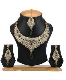 The Pari's Designer Multi-Colour Necklace (EY-02)