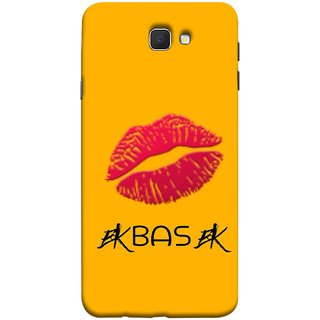FUSON Designer Back Case Cover for Samsung Galaxy On Nxt (2016) (Red Pink Juicy Lips Woman Female Girls Girlfriend)