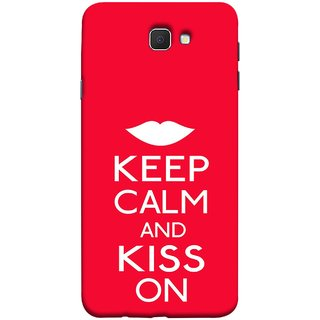 FUSON Designer Back Case Cover for Samsung Galaxy On Nxt (2016) (Beautiful Lips Always Stay Silent And Kiss Other Work Resolve)
