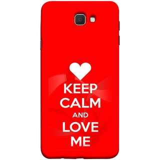FUSON Designer Back Case Cover for Samsung Galaxy On Nxt (2016) (Beautiful Hearts Always Stay Silent And Love Other Work Resolve)