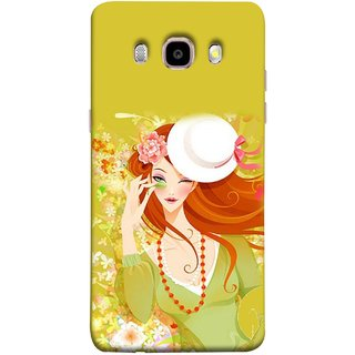 FUSON Designer Back Case Cover for Samsung Galaxy On8 Sm-J710Fn/Df (Baby Couples Nice Quotes Happy Lovely Hard Kisses )