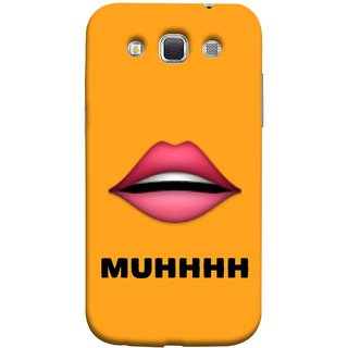 FUSON Designer Back Case Cover for Samsung Galaxy Win I8550 :: Samsung Galaxy Grand Quattro :: Samsung Galaxy Win Duos I8552 (Red Lips Pinky Flying Kisses Girl Lovers Couples Hot)