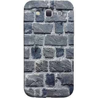 FUSON Designer Back Case Cover for Samsung Galaxy Win I8550 :: Samsung Galaxy Grand Quattro :: Samsung Galaxy Win Duos I8552 (Irregular Shapes Cement Ancient Different Sizes Wall)