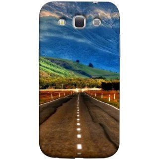 FUSON Designer Back Case Cover for Samsung Galaxy Win I8550 :: Samsung Galaxy Grand Quattro :: Samsung Galaxy Win Duos I8552 (Scenic Road And Beautiful Mountains Highway Nature)