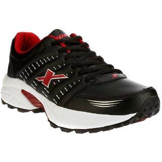 Sparx Men's 100 original SM-241 Black Red Sport Shoes