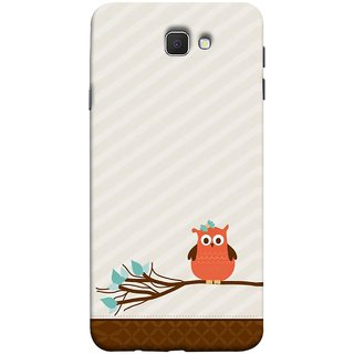 FUSON Designer Back Case Cover for Samsung Galaxy On Nxt (2016) (Birds Sitting Alone Waiting For Partner Leaves Leaf)