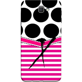 FUSON Designer Back Case Cover for Samsung Galaxy On Nxt (2016) (Beautiful Cute Nice Couples Pink Design Paper Girly)