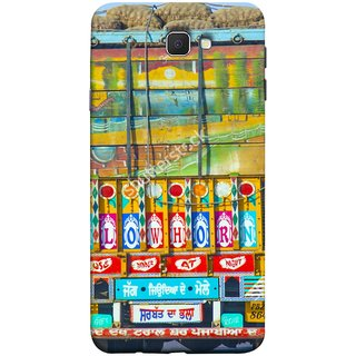 FUSON Designer Back Case Cover for Samsung Galaxy On Nxt (2016) (Decorated Goods Carrier On Indian Road Stop Dil Tera)