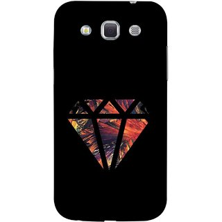 FUSON Designer Back Case Cover for Samsung Galaxy Win I8550 :: Samsung Galaxy Grand Quattro :: Samsung Galaxy Win Duos I8552 (Bright Beautiful Colour Strips And Band Wave Triangle)