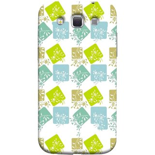 FUSON Designer Back Case Cover for Samsung Galaxy Win I8550 :: Samsung Galaxy Grand Quattro :: Samsung Galaxy Win Duos I8552 (Pixel Mosaic Background Squares Tree Plants Garden )
