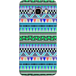 FUSON Designer Back Case Cover for Samsung Galaxy On8 Sm-J710Fn/Df (Tribal Patterns Colourful Eye Catching Verity Different )
