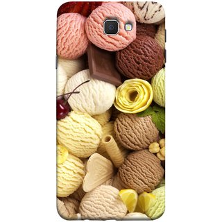 FUSON Designer Back Case Cover for Samsung Galaxy On Nxt (2016) (Cool Desserts Flavors Banana Chocolate Chips)