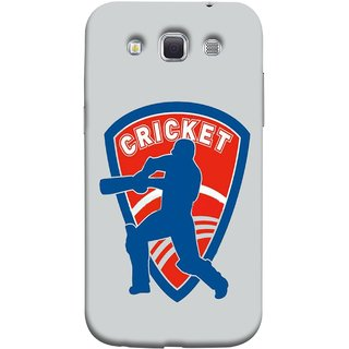 FUSON Designer Back Case Cover for Samsung Galaxy Win I8550 :: Samsung Galaxy Grand Quattro :: Samsung Galaxy Win Duos I8552 (County Cricket India Aus England Bat Ball Batsman)