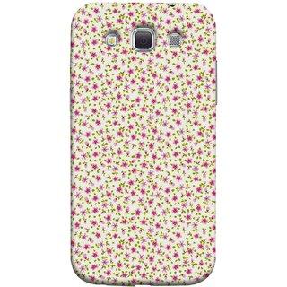 FUSON Designer Back Case Cover for Samsung Galaxy Win I8550 :: Samsung Galaxy Grand Quattro :: Samsung Galaxy Win Duos I8552 (Pink Lecien Fabric Pink Blue Flower Green Leaf Tiny )