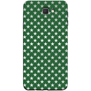 FUSON Designer Back Case Cover for Samsung Galaxy On Nxt (2016) (Small Lot Of Stars Green Back Shining Glossy)