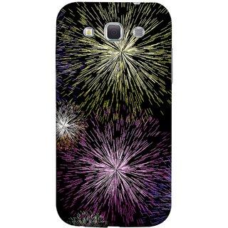 FUSON Designer Back Case Cover for Samsung Galaxy Win I8550 :: Samsung Galaxy Grand Quattro :: Samsung Galaxy Win Duos I8552 (Dark Night Fireworks Diwali Dipawali Flowers )