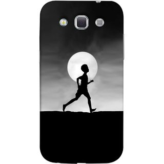 FUSON Designer Back Case Cover for Samsung Galaxy Win I8550 :: Samsung Galaxy Grand Quattro :: Samsung Galaxy Win Duos I8552 (Halloween Vector Illustration Background Full Moon )