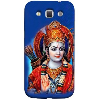 FUSON Designer Back Case Cover for Samsung Galaxy Win I8550 :: Samsung Galaxy Grand Quattro :: Samsung Galaxy Win Duos I8552 (Ravana Fight Purshottam Hindu God Lotus Vishnu )