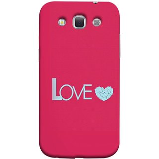 FUSON Designer Back Case Cover for Samsung Galaxy Win I8550 :: Samsung Galaxy Grand Quattro :: Samsung Galaxy Win Duos I8552 (Best Gift For Valentine Friends Lovers Couples Baby Pink Red )
