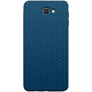 FUSON Designer Back Case Cover for Samsung Galaxy On Nxt (2016) (Hexa Design Honey Bee Hive Art Style Blue)