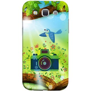 FUSON Designer Back Case Cover for Samsung Galaxy Win I8550 :: Samsung Galaxy Grand Quattro :: Samsung Galaxy Win Duos I8552 (Camera Nature Flowers Blue Sky White Clouds Beautiful )