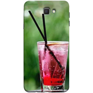 FUSON Designer Back Case Cover for Samsung Galaxy On Nxt (2016) (Glass Full Of Cold Fresh Squeezed Watermelon Juice)