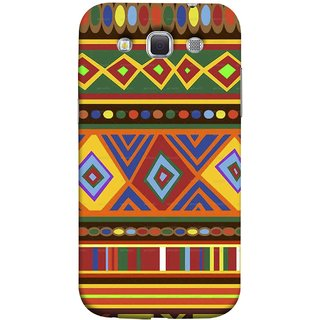 FUSON Designer Back Case Cover for Samsung Galaxy Win I8550 :: Samsung Galaxy Grand Quattro :: Samsung Galaxy Win Duos I8552 (Tribal Patterns Colourful Eye Catching Verity Different )