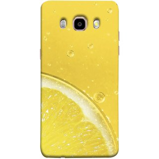 FUSON Designer Back Case Cover for Samsung Galaxy On8 Sm-J710Fn/Df (Farm Fresh Fruits Lemons Fresh Juicy Beer Pitcher )