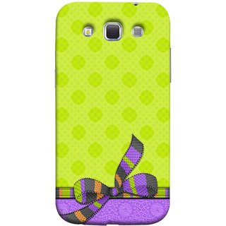 FUSON Designer Back Case Cover for Samsung Galaxy Win I8550 :: Samsung Galaxy Grand Quattro :: Samsung Galaxy Win Duos I8552 (Pista Green Colour Gift Wrap Packing Wallpaper)