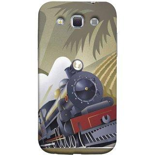 FUSON Designer Back Case Cover for Samsung Galaxy Win I8550 :: Samsung Galaxy Grand Quattro :: Samsung Galaxy Win Duos I8552 (British Steam Engine Trains Express Mail )