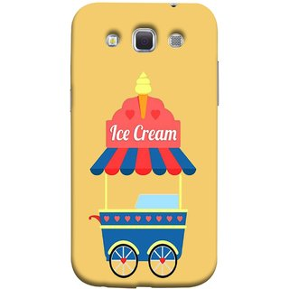 FUSON Designer Back Case Cover for Samsung Galaxy Win I8550 :: Samsung Galaxy Grand Quattro :: Samsung Galaxy Win Duos I8552 (Ice Cone Pineapple Flavour Wheels Hearts Shade )