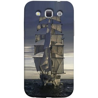 FUSON Designer Back Case Cover for Samsung Galaxy Win I8550 :: Samsung Galaxy Grand Quattro :: Samsung Galaxy Win Duos I8552 (Beautiful Big Ship In Ocean Vintage Tall High)