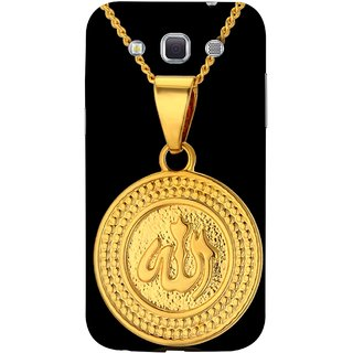FUSON Designer Back Case Cover for Samsung Galaxy Win I8550 :: Samsung Galaxy Grand Quattro :: Samsung Galaxy Win Duos I8552 (Allah Pendant Necklace For Men Middle East Necklaces)