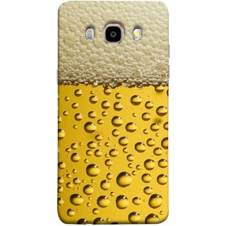 FUSON Designer Back Case Cover for Samsung Galaxy On8 Sm-J710Fn/Df (Party Friendship Yaro Ki Mahfil Cold Chilled Beer Glass )