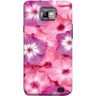 FUSON Designer Back Case Cover for Samsung Galaxy S2 I9100 :: Samsung I9100 Galaxy S Ii (Floral Patterns Digital Textiles Florals Design Patterns)