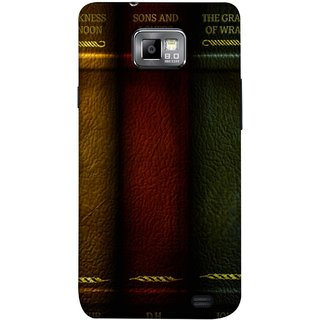 FUSON Designer Back Case Cover for Samsung Galaxy S2 I9100 :: Samsung I9100 Galaxy S Ii (Grapes Of Wrath Sons And Lovers Arthur Koestler)