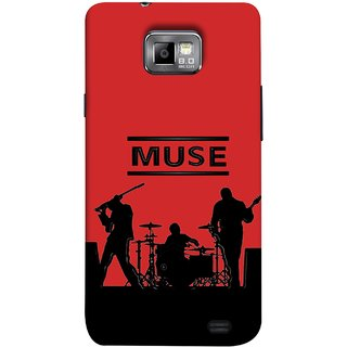 FUSON Designer Back Case Cover for Samsung Galaxy S2 I9100 :: Samsung I9100 Galaxy S Ii (Dancers Singers Instruments Piano Musical Concert)