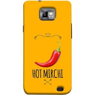 FUSON Designer Back Case Cover for Samsung Galaxy S2 I9100 :: Samsung I9100 Galaxy S Ii (Radio Mirchi Show Hot Love Guru Teacher Mantra)
