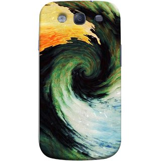 FUSON Designer Back Case Cover for Samsung Galaxy S3 Neo I9300I :: Samsung I9300I Galaxy S3 Neo :: Samsung Galaxy S Iii Neo+ I9300I :: Samsung Galaxy S3 Neo Plus (Galaxy Universe Lava Icy Water Green Land )