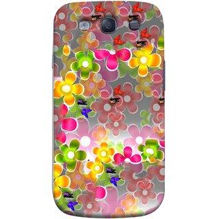 FUSON Designer Back Case Cover for Samsung Galaxy S3 Neo I9300I :: Samsung I9300I Galaxy S3 Neo :: Samsung Galaxy S Iii Neo+ I9300I :: Samsung Galaxy S3 Neo Plus (Butterflies Garden Trees Stars Bright Best Wallpaper)